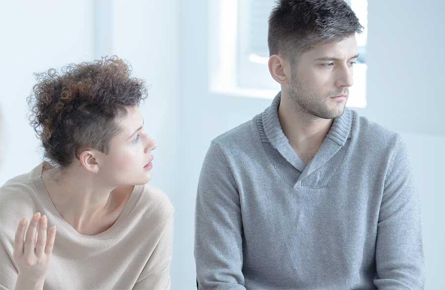 un aiuto per l'ansia terapia di coppia