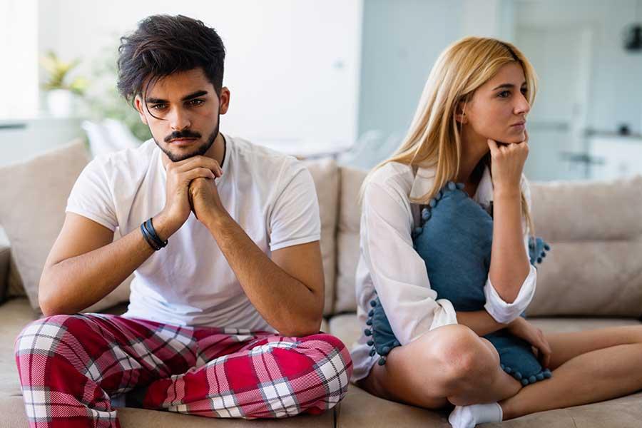 Crisi di coppia per ansia e stress da coronavirus